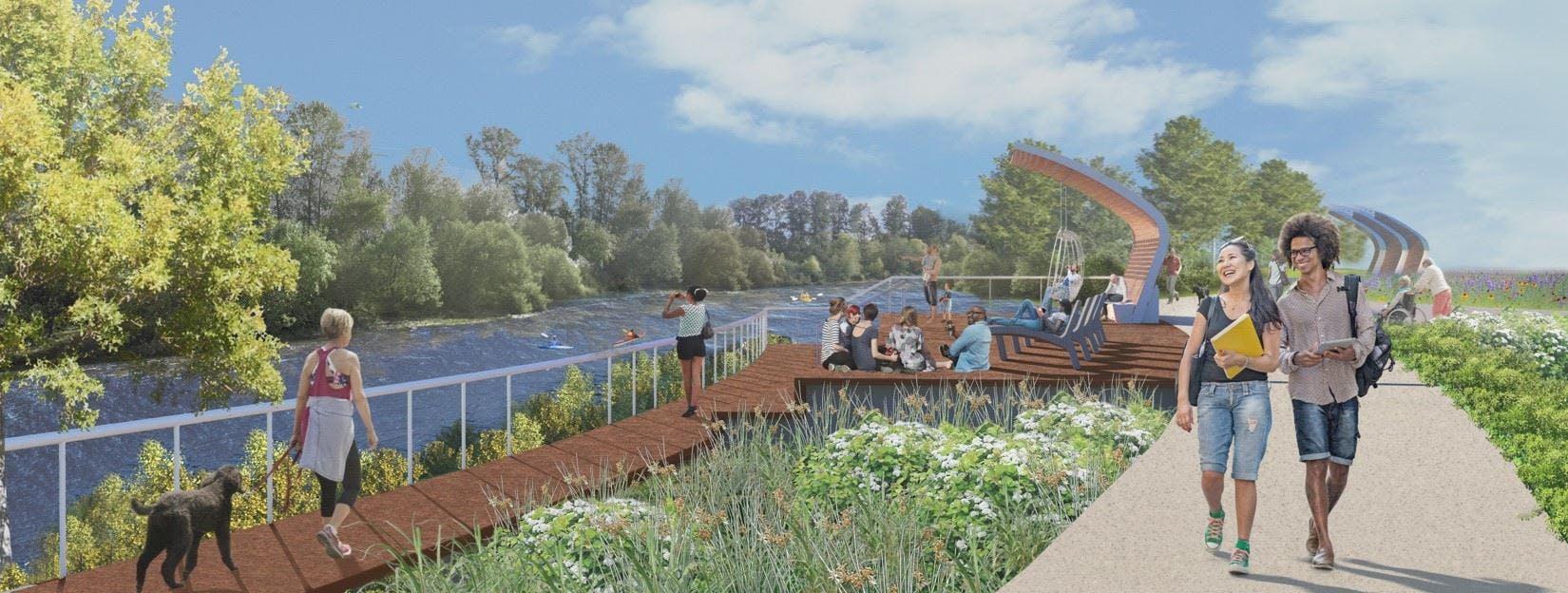 Riverfront Park Concept