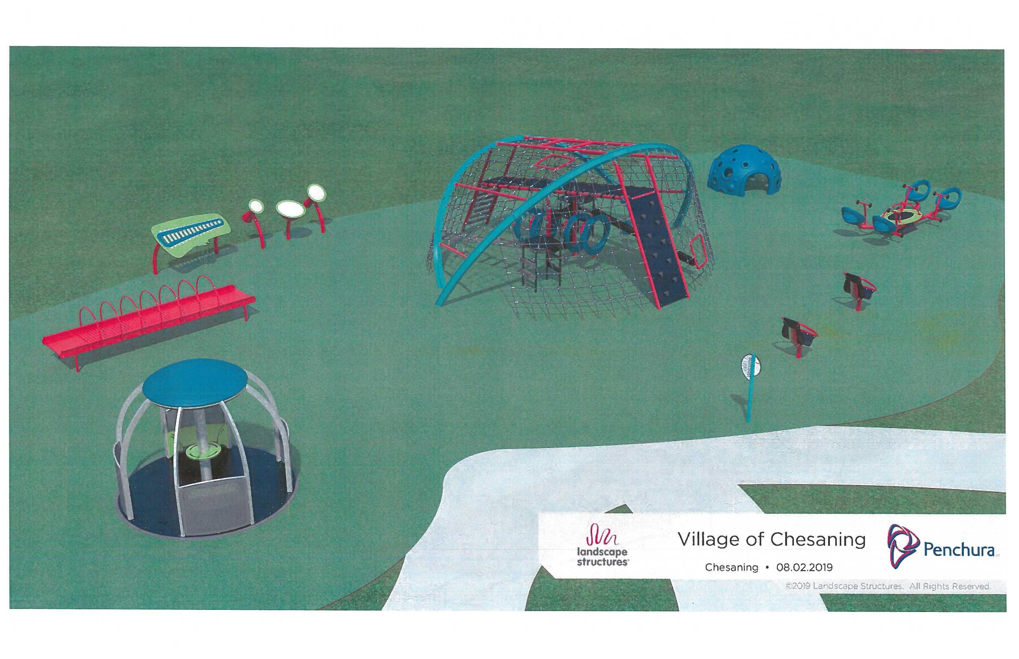 Showboat Playground - Stations