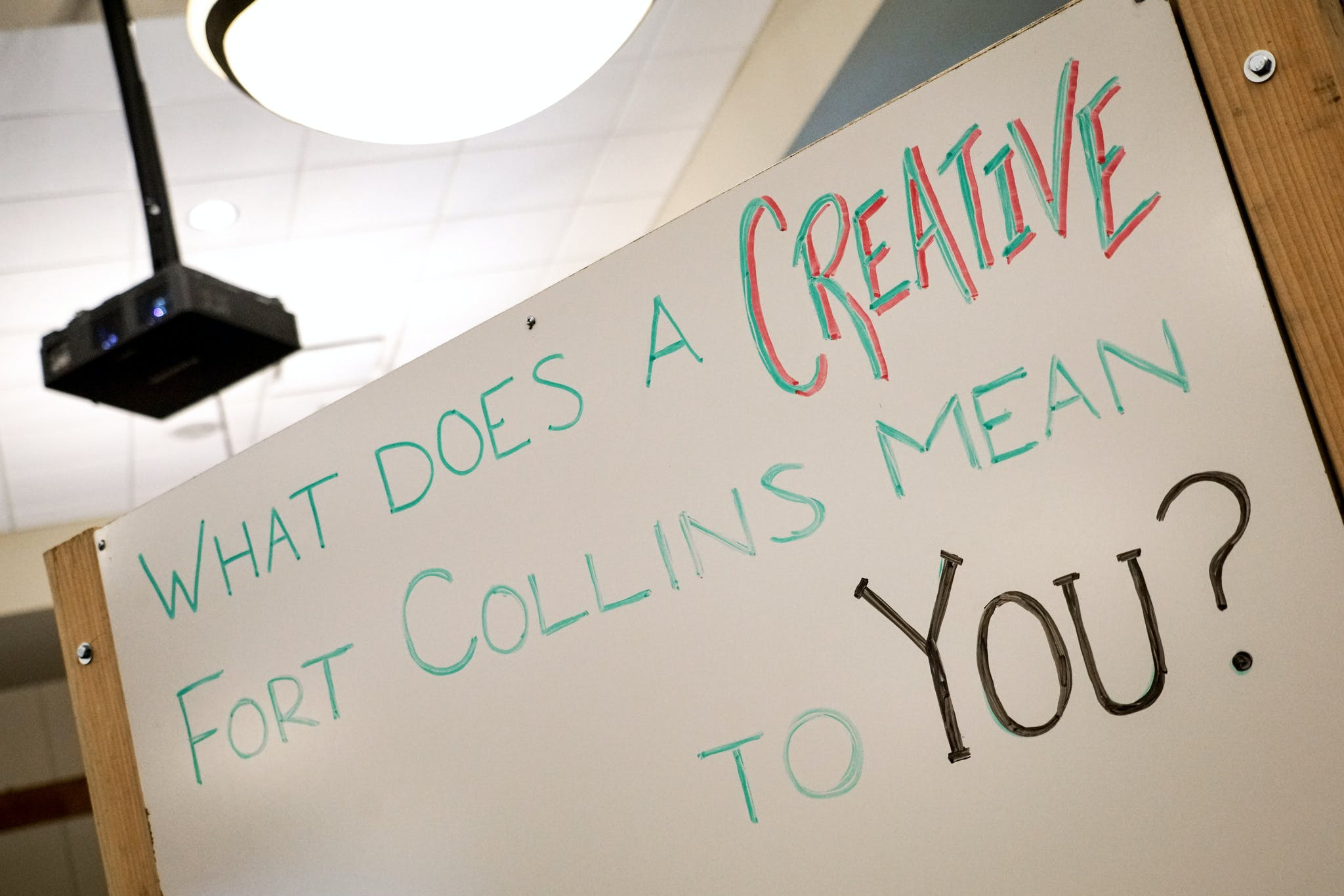 What does a creative Fort Collins mean to you?