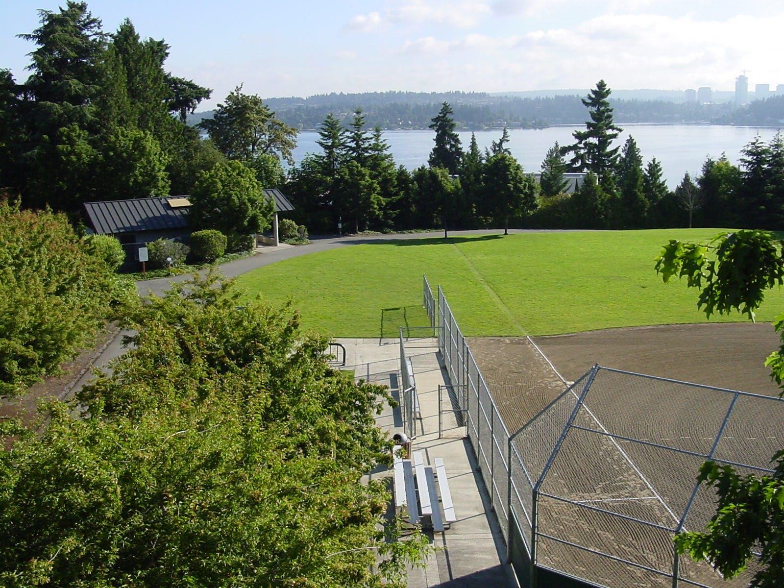 Lid Baseball Field