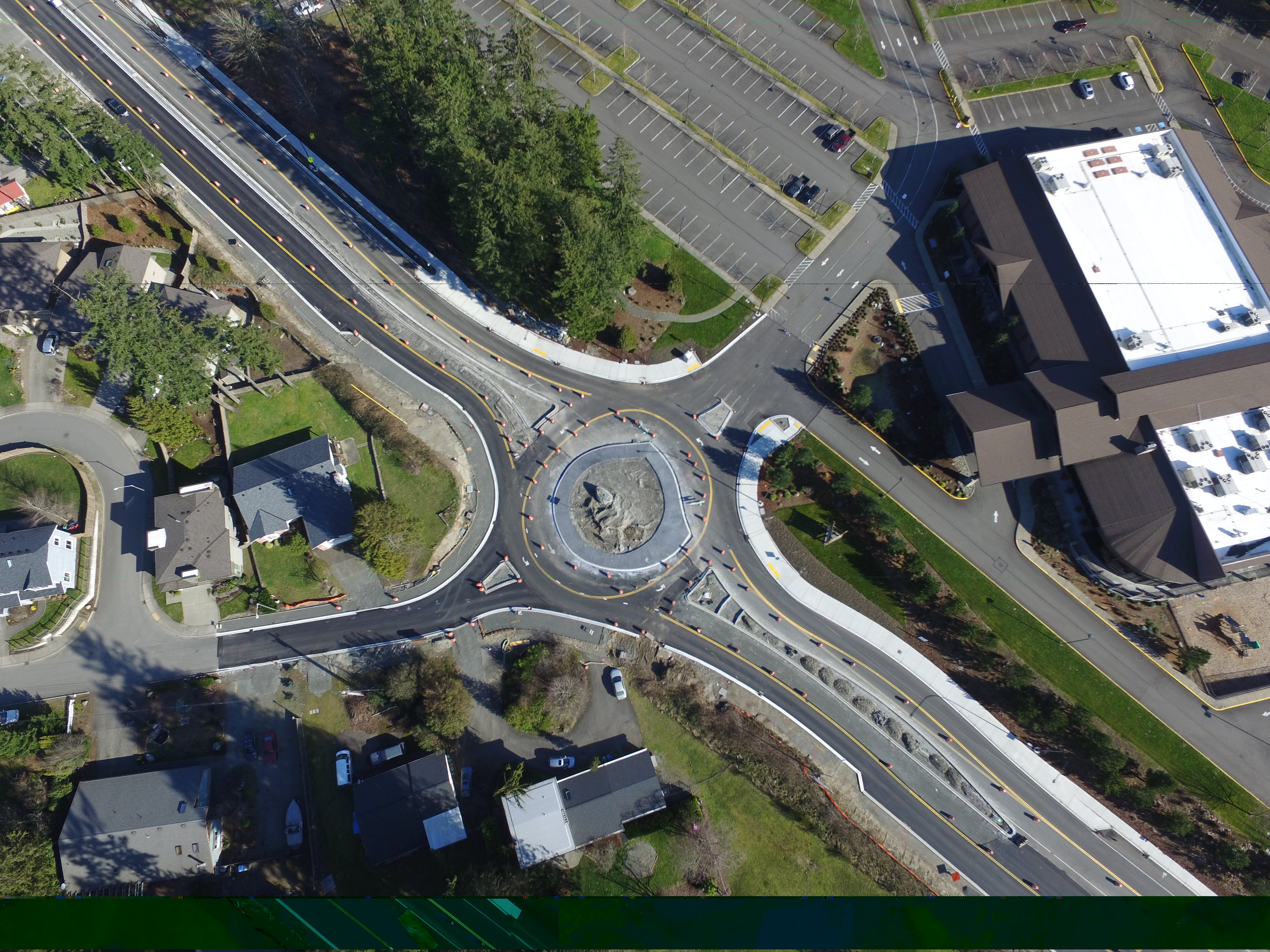 Roundabout at 242nd