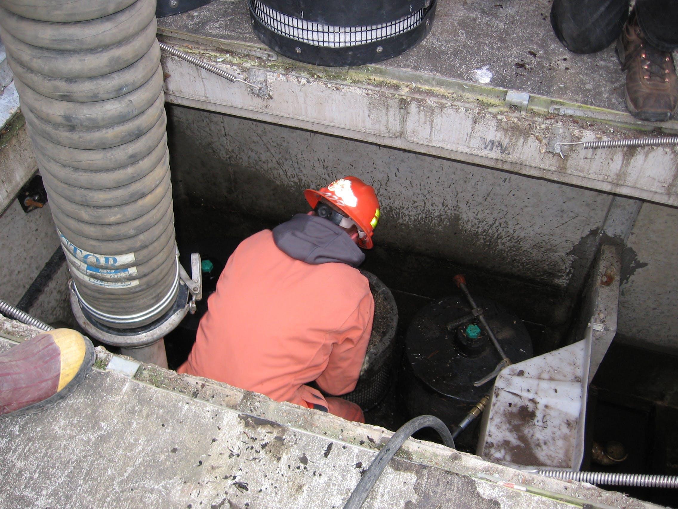 Stormwater filter maintenance