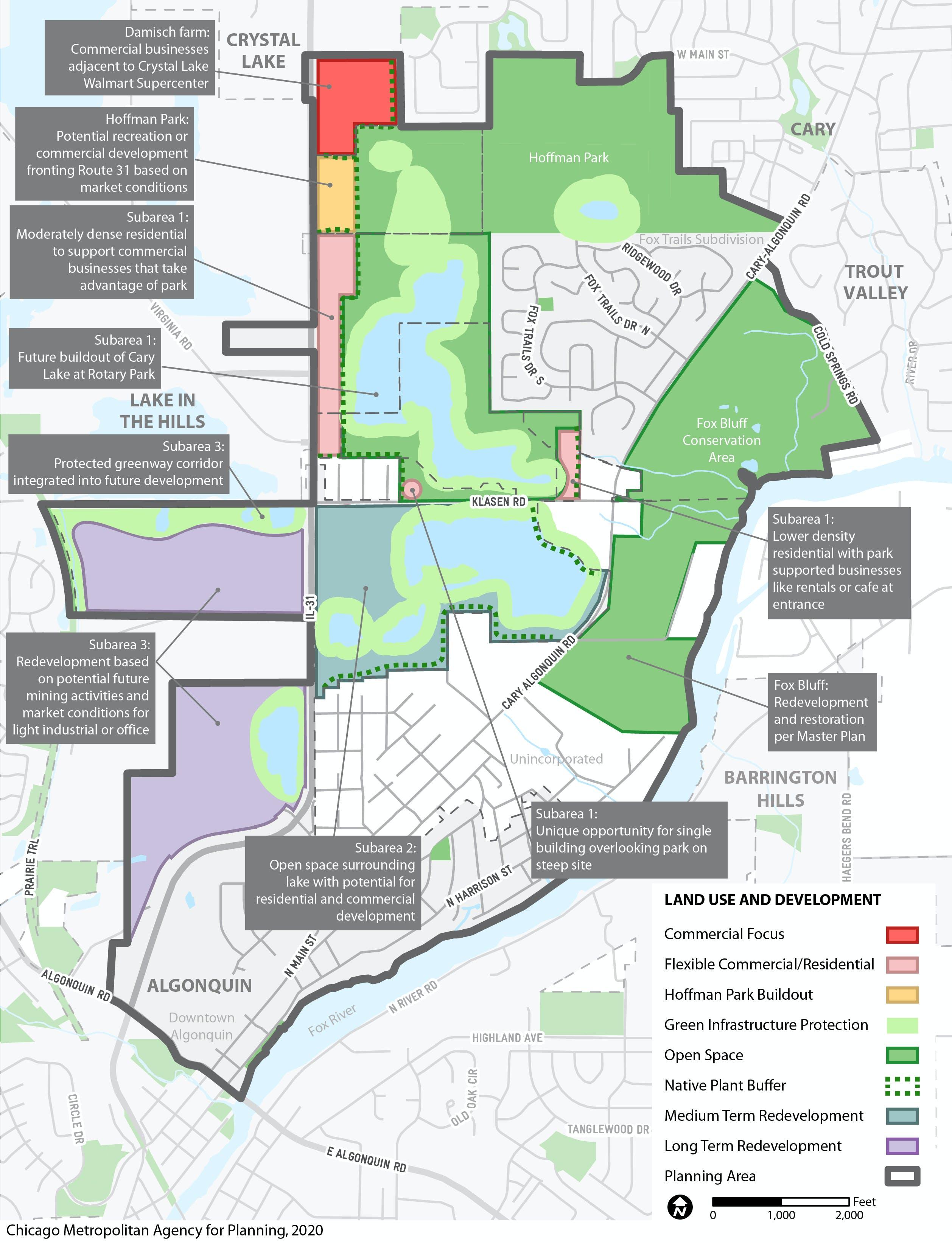 Land Use and Development plan