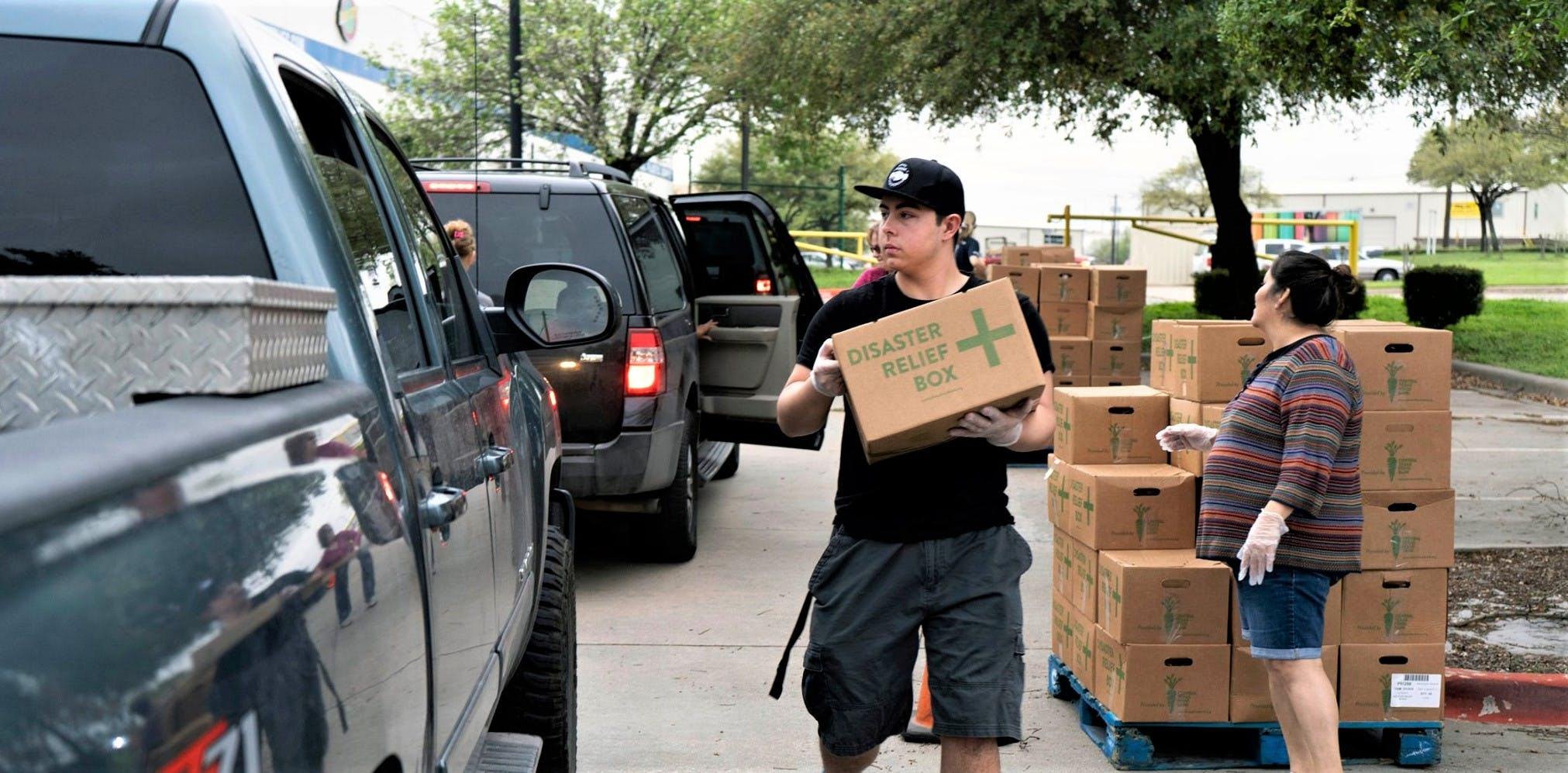Central Texas Food Bank Distribution