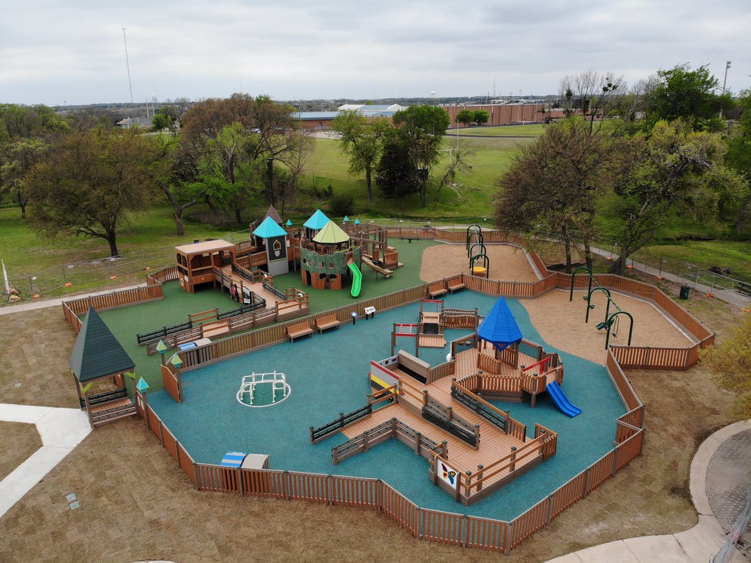 New creative Playground at Virginia Weaver Park