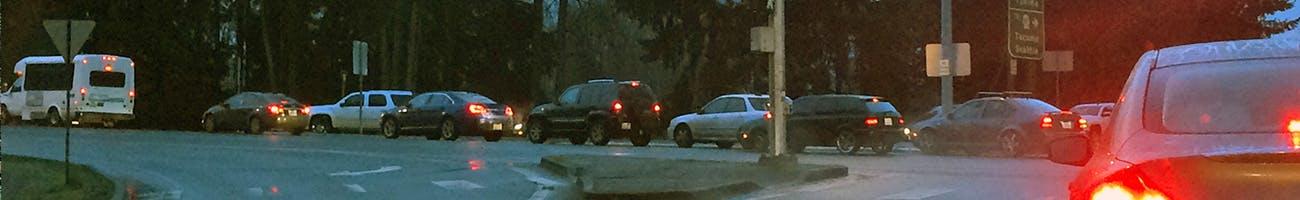 Traffic Avenue congestion
