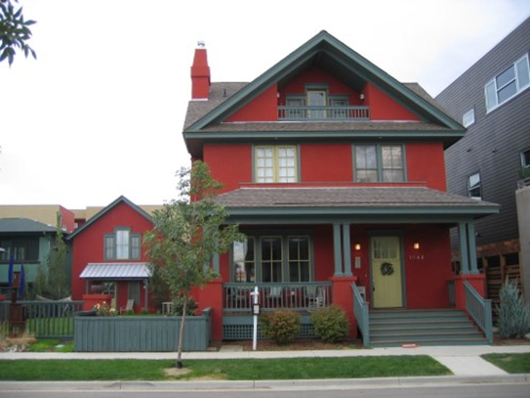 Home with and accessory dwelling unit (ADU) in Prospect, Longmont.