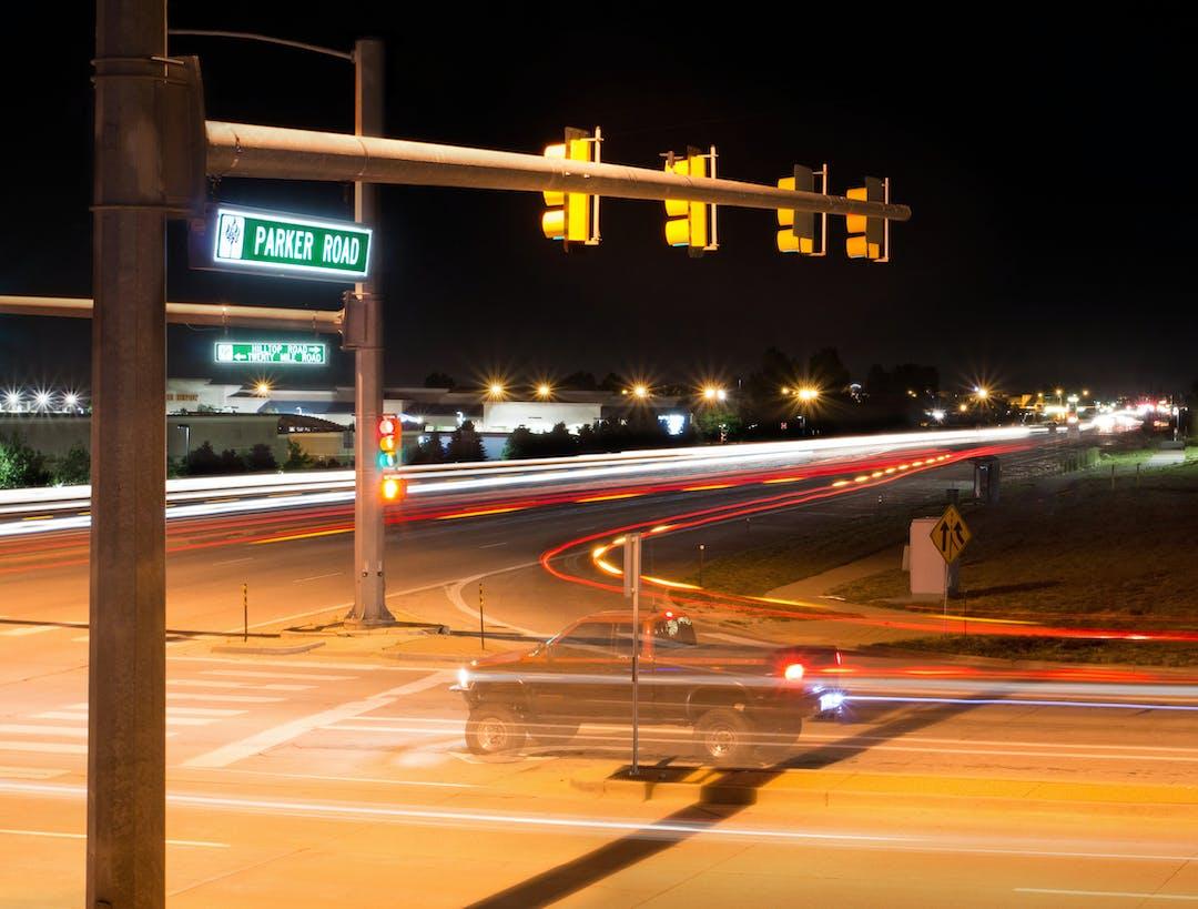 Traffic parker sign