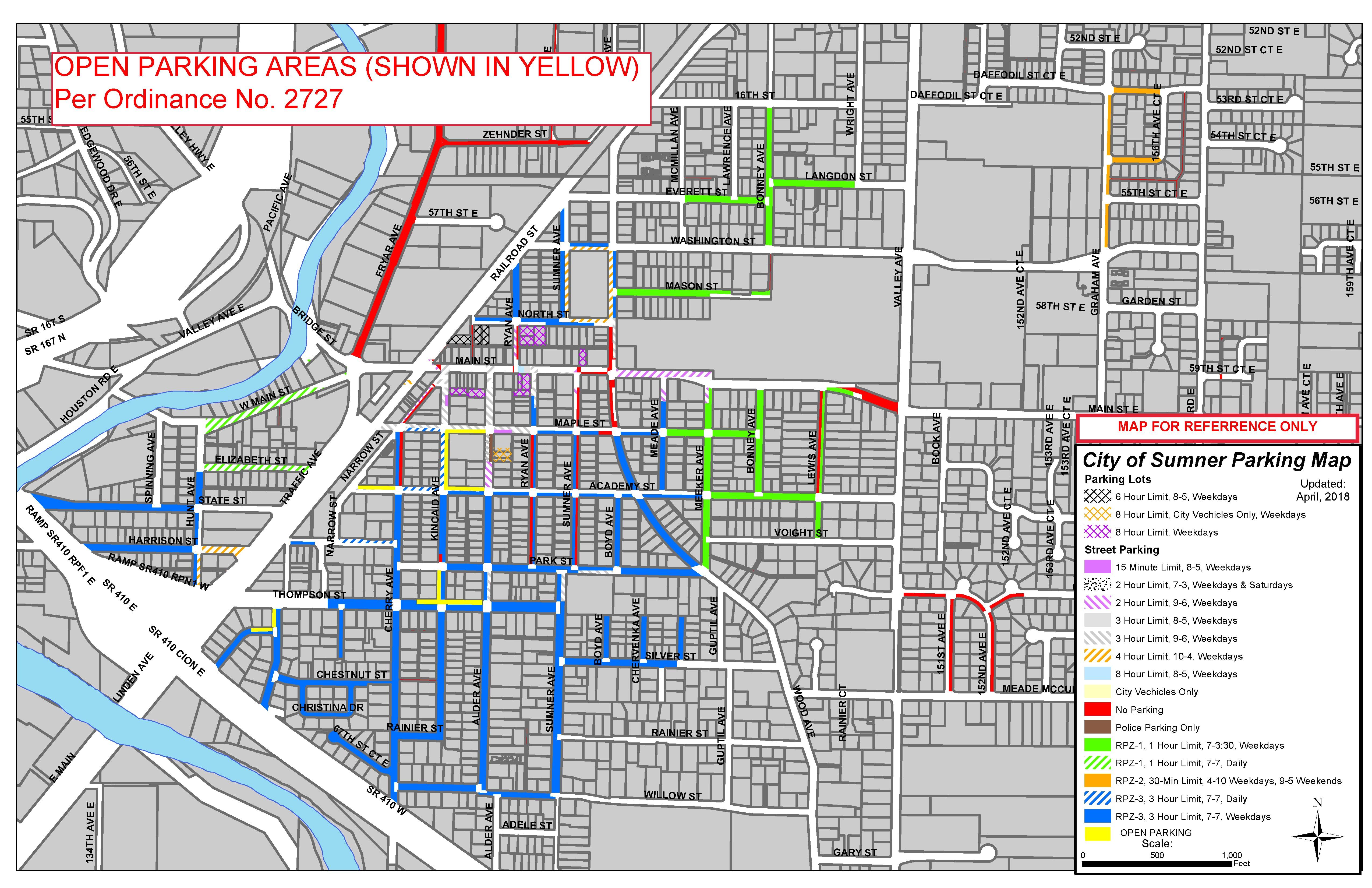 Rpz Parking Map