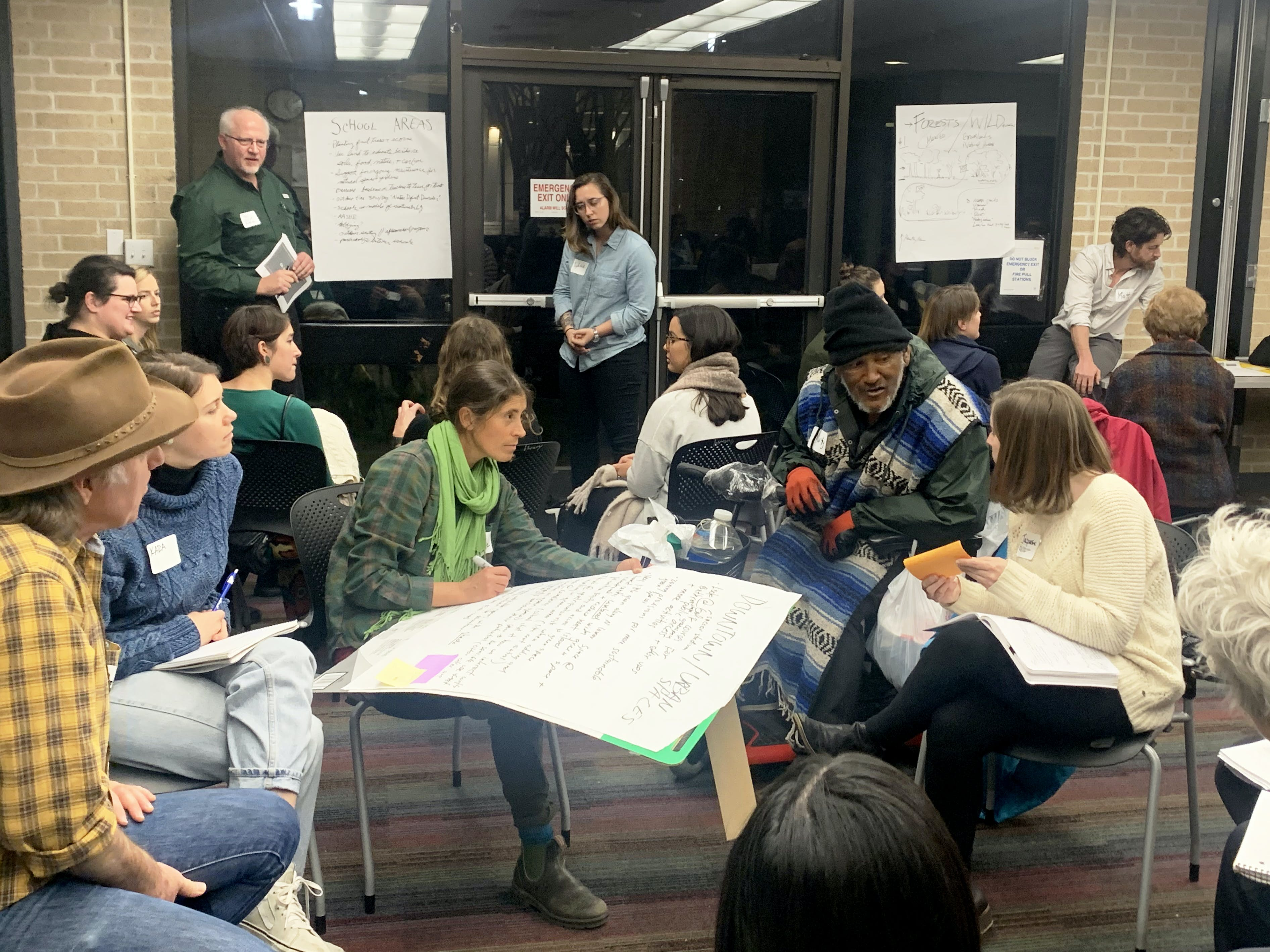 Collaborating at the Natural Systems Community Workshop