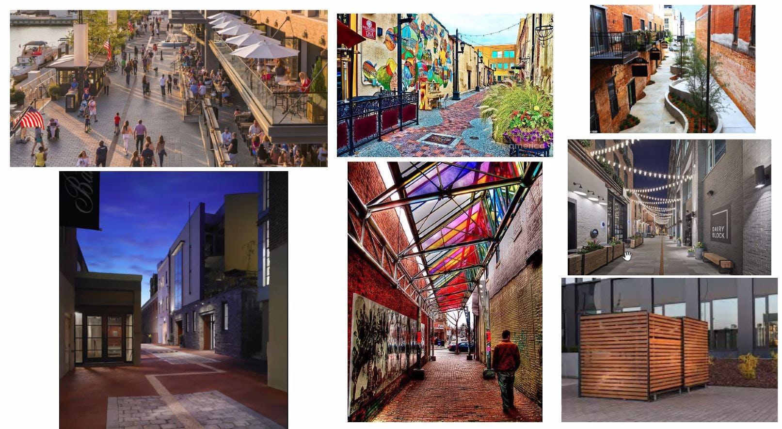 Design Inspiration for Alleys