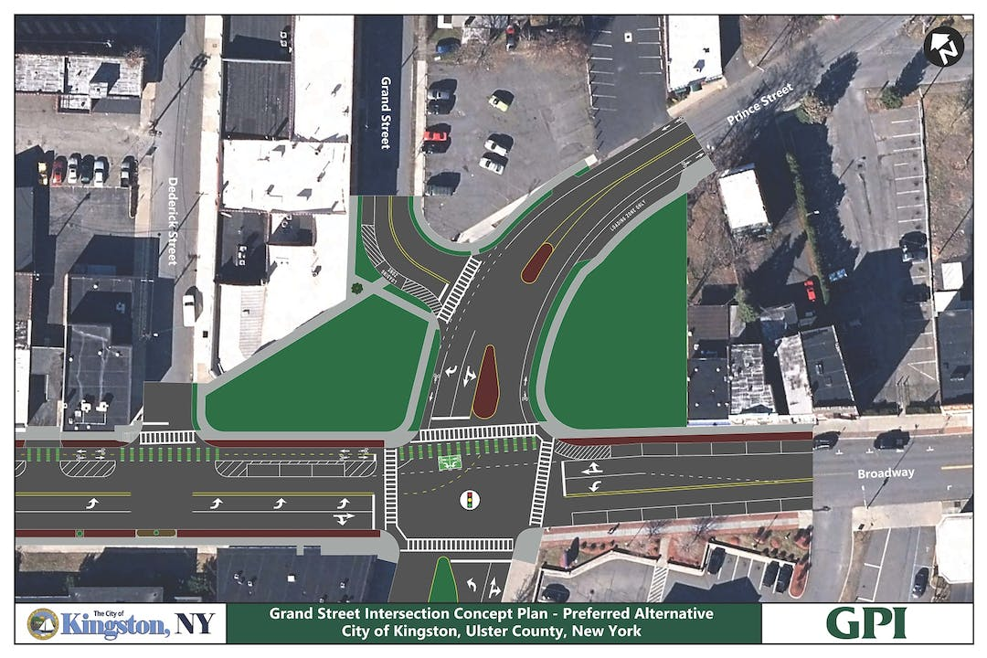 Final Design of the Intersection Realignment Project