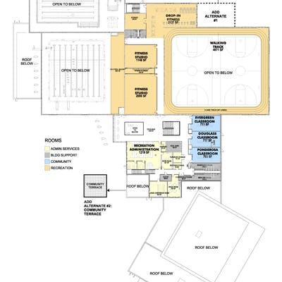 Floor Plans Level 2
