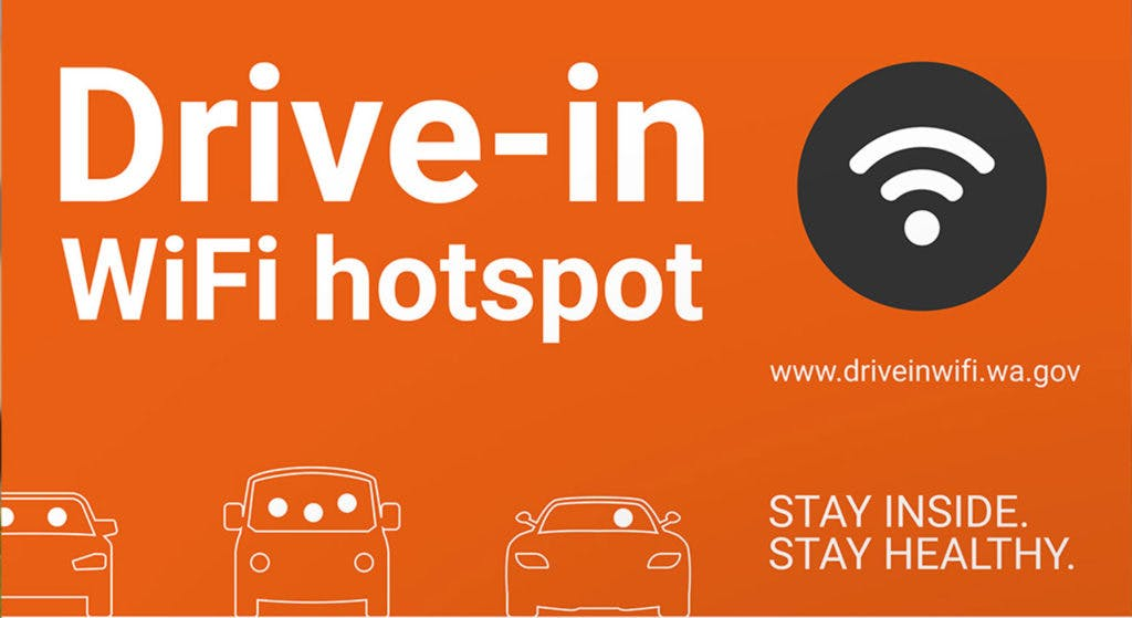 Drive-In WiFi Hotspots Location Finder