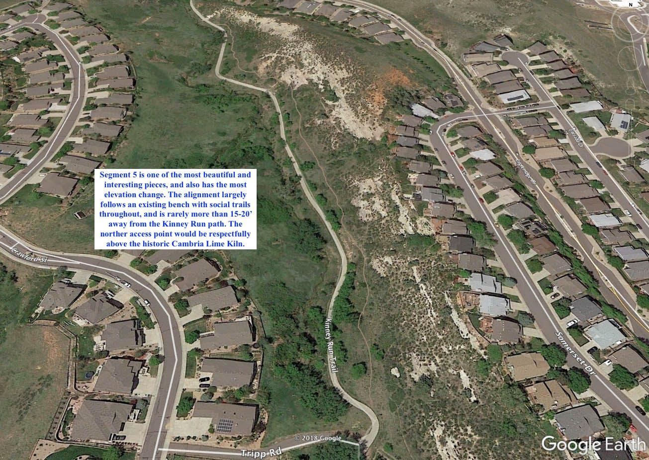 Trail Segment 5 Map