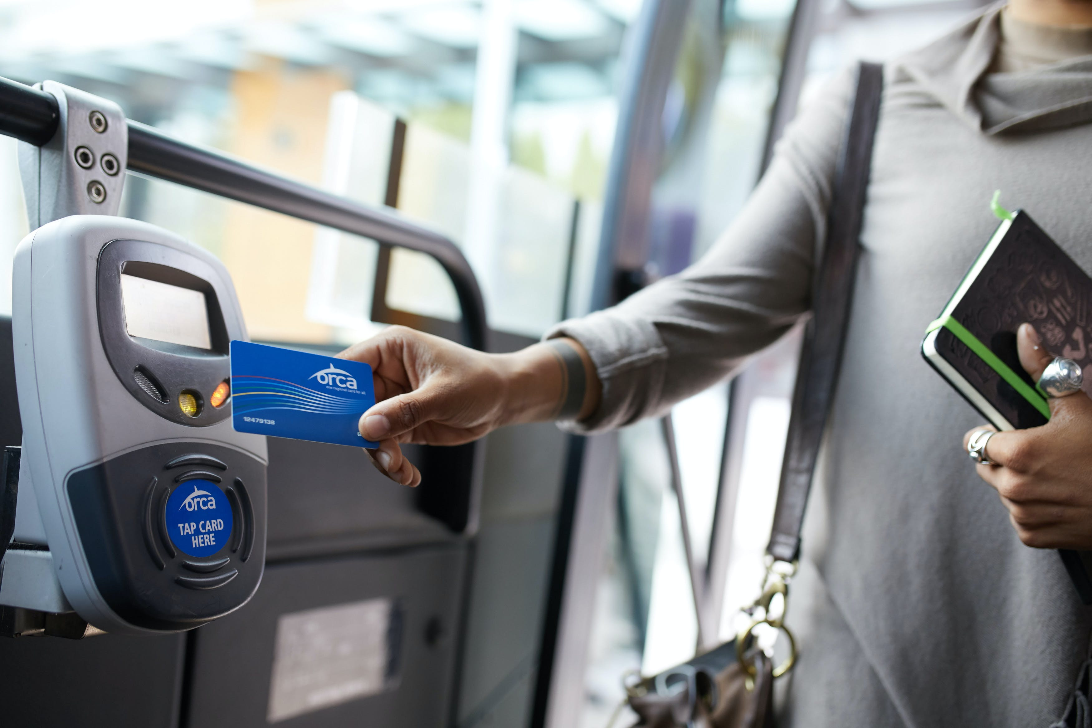 Tap ORCA card