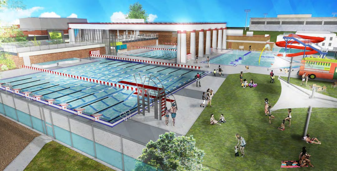 Rendering of Echo Hollow Pool & Fitness Center