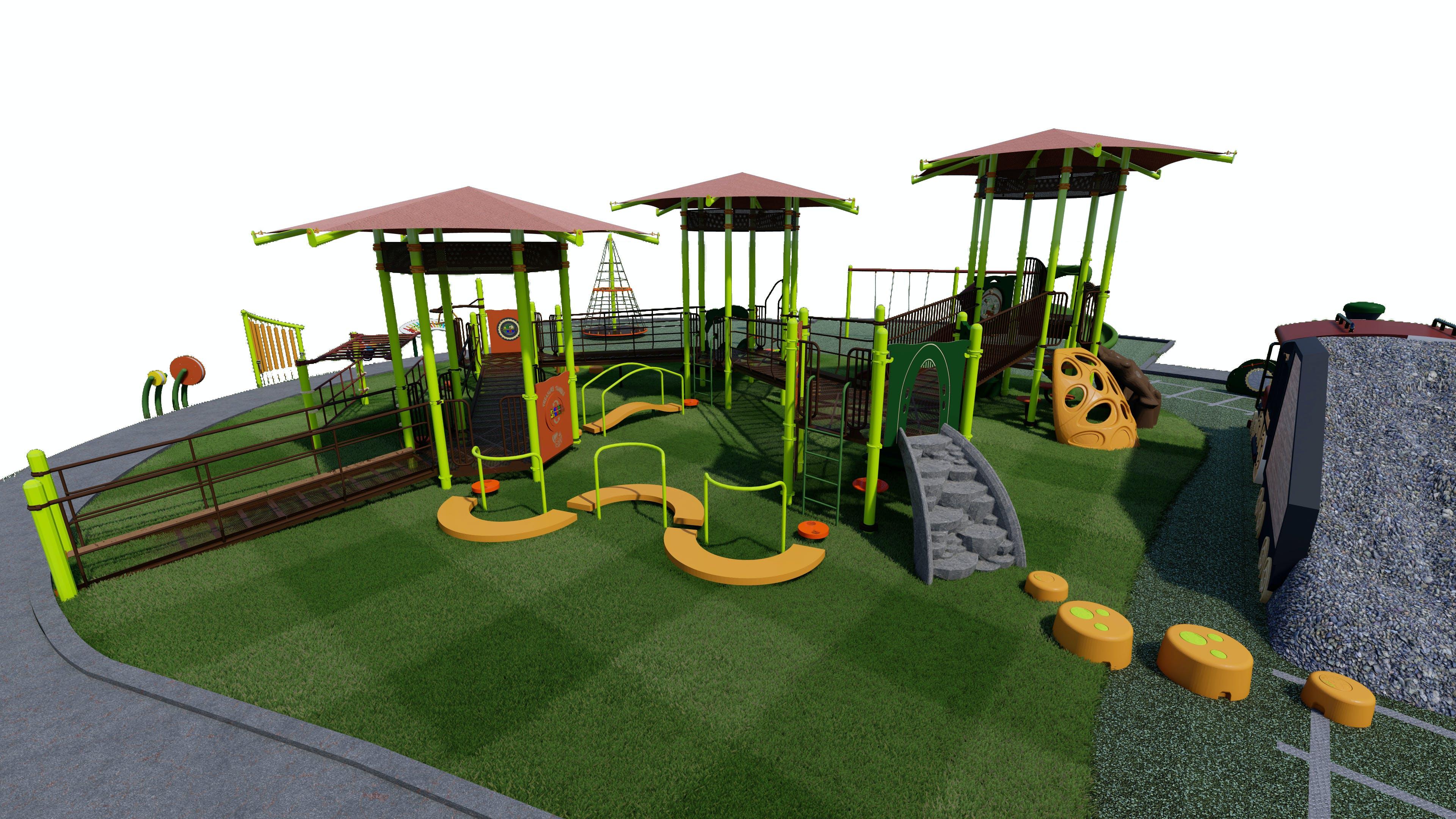Preferred Playground Design View 2