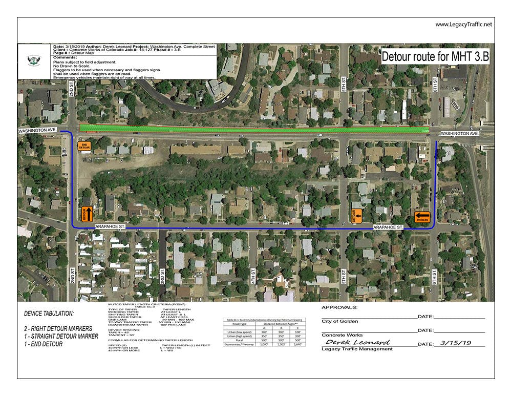 North Washington Complete Street Project | Guiding Golden