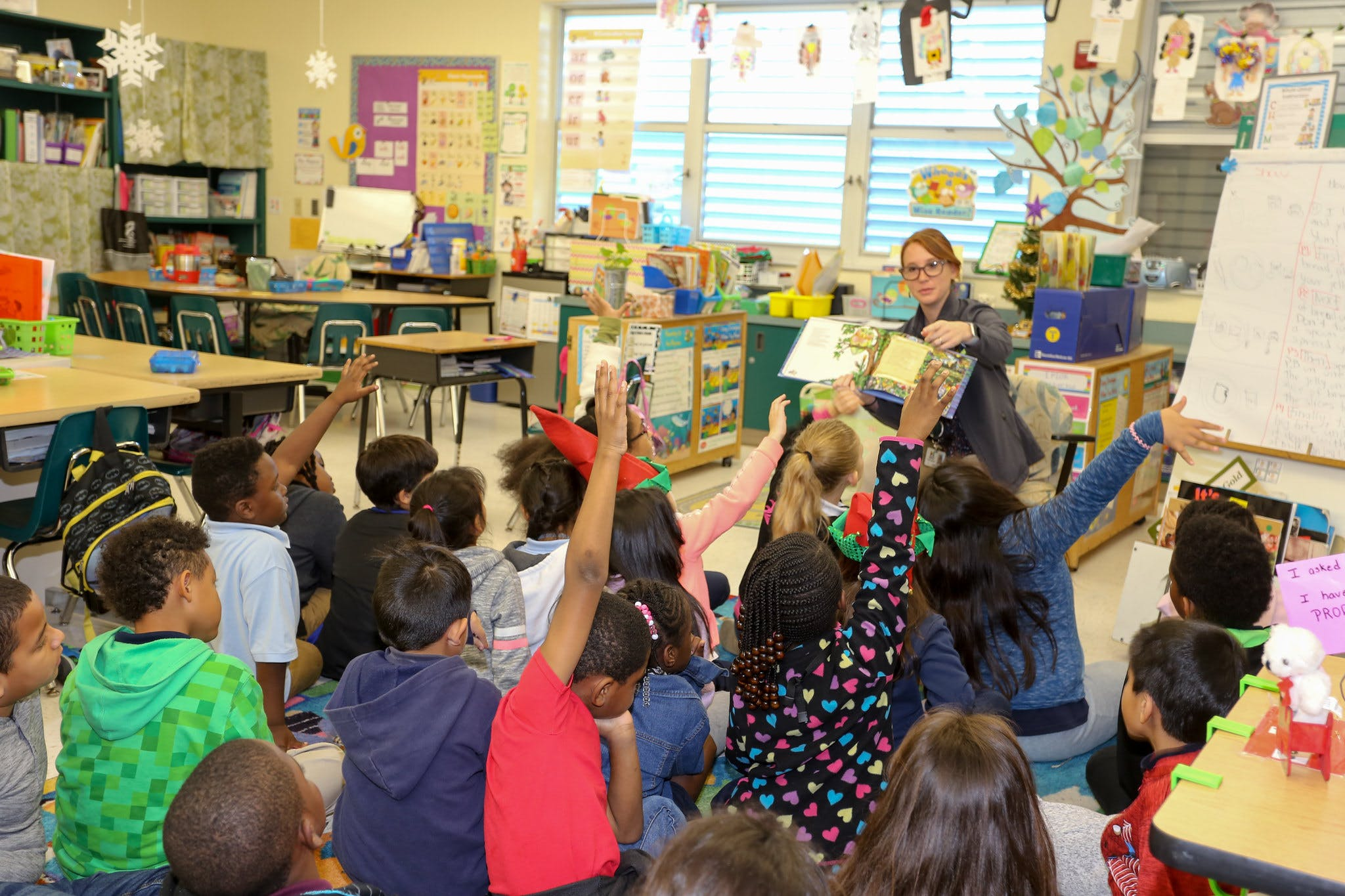 Environmental Storytime with Gulfstream Academy Students