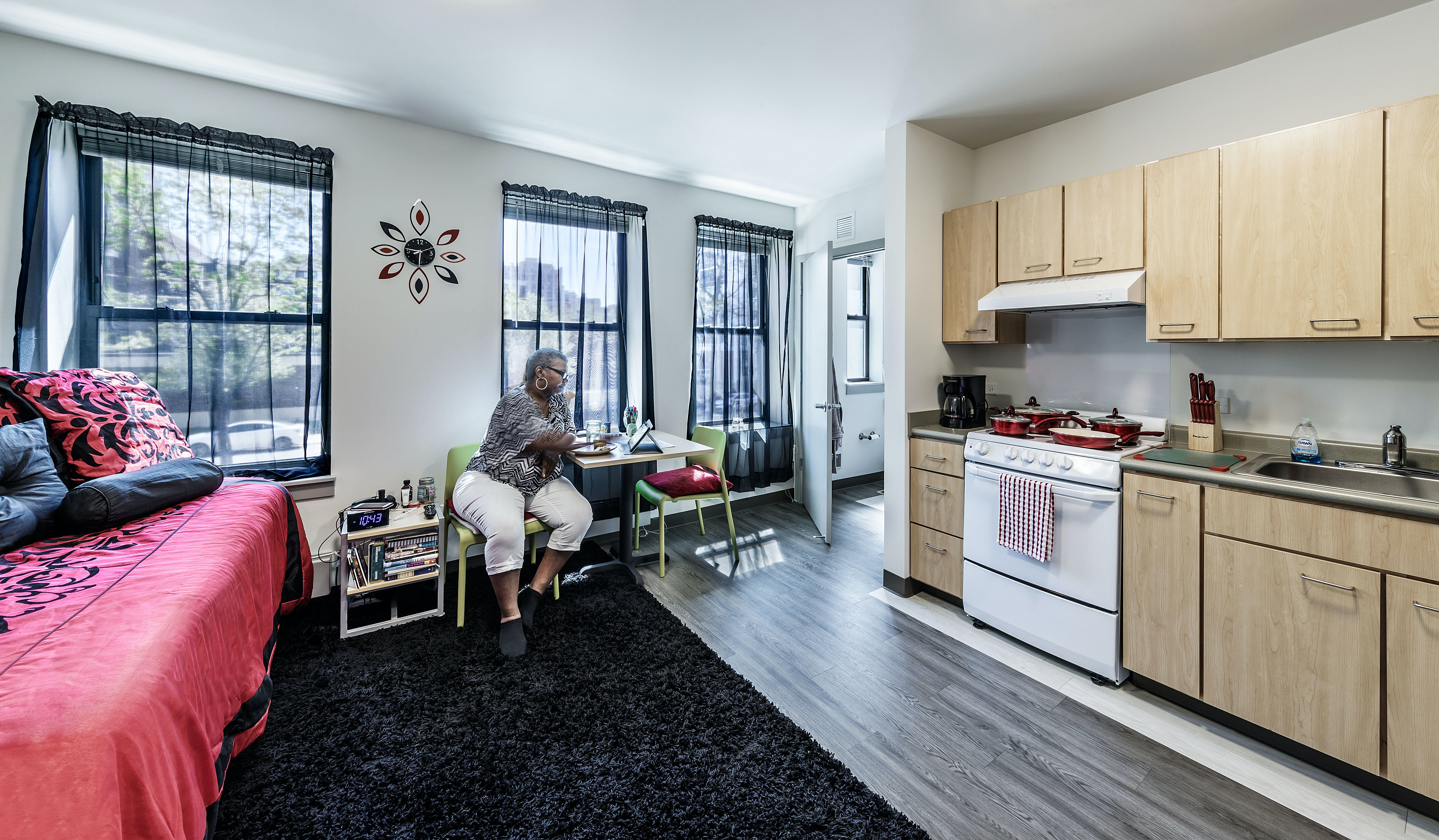 Shared Kitchen/Bathroom Apartments in Multi-family Zones Example 2