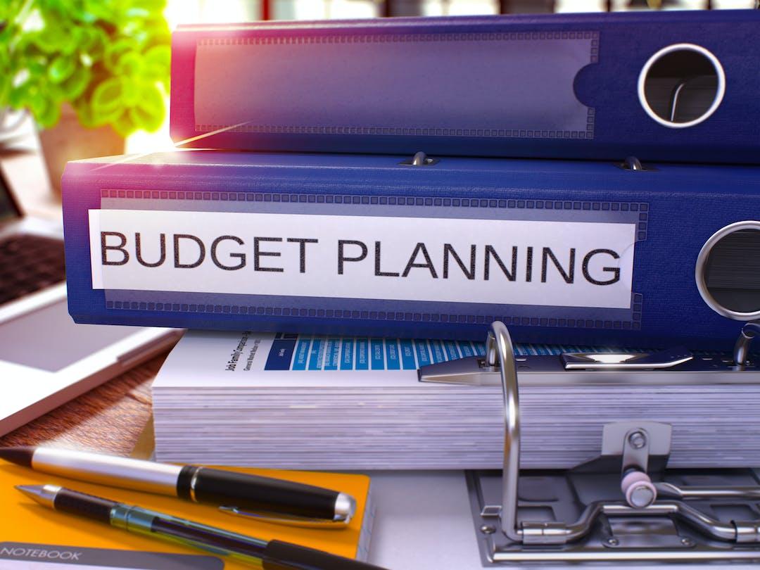 Budget planning image