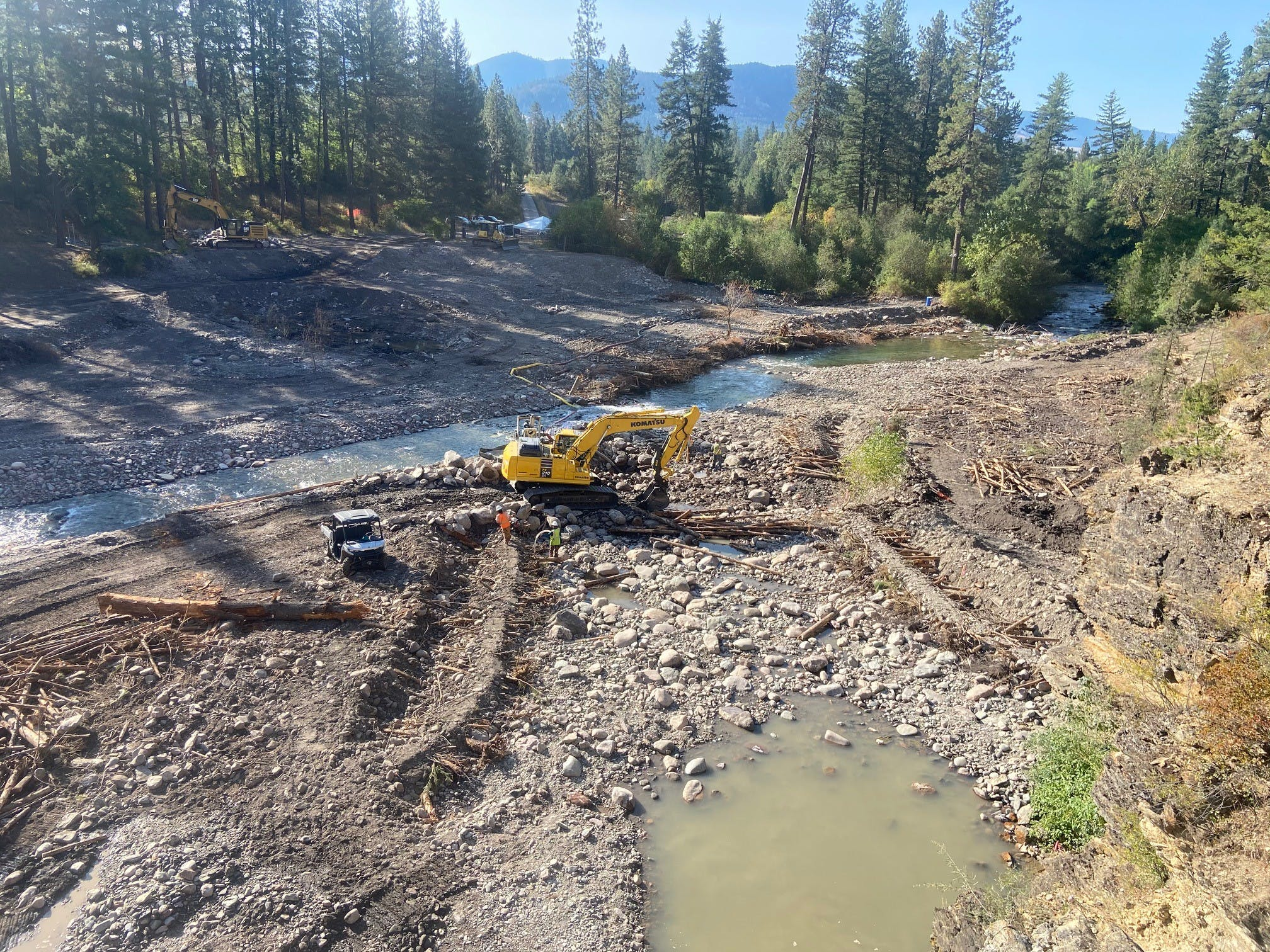 New Creek Channel Near Completion September 4, 2020