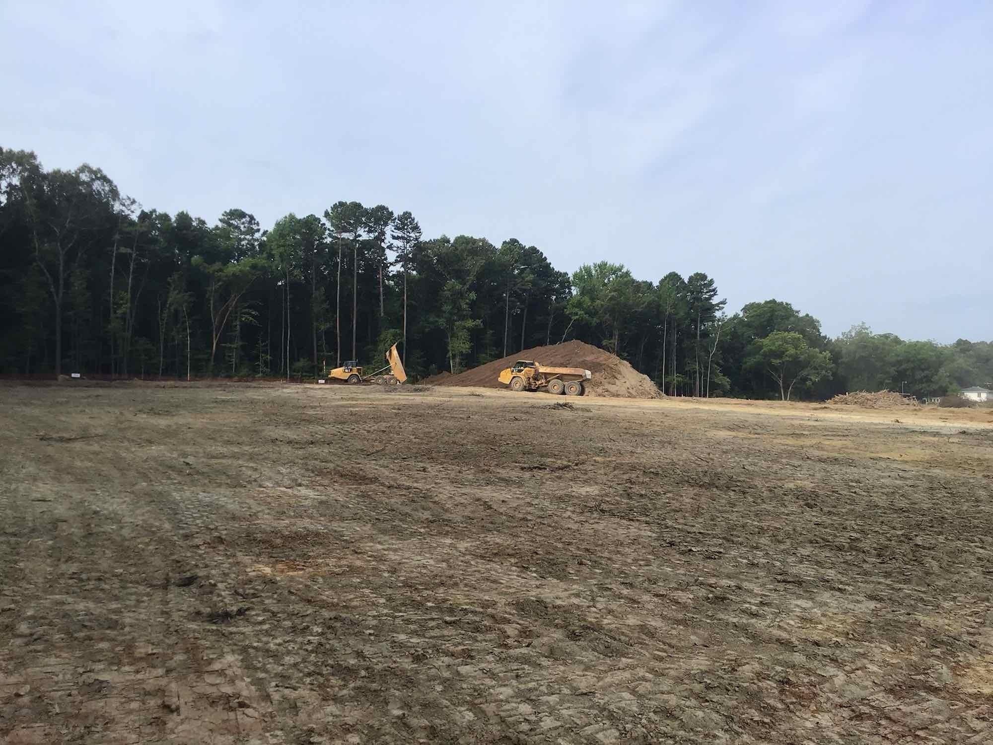 Northern High School Site - July 2021