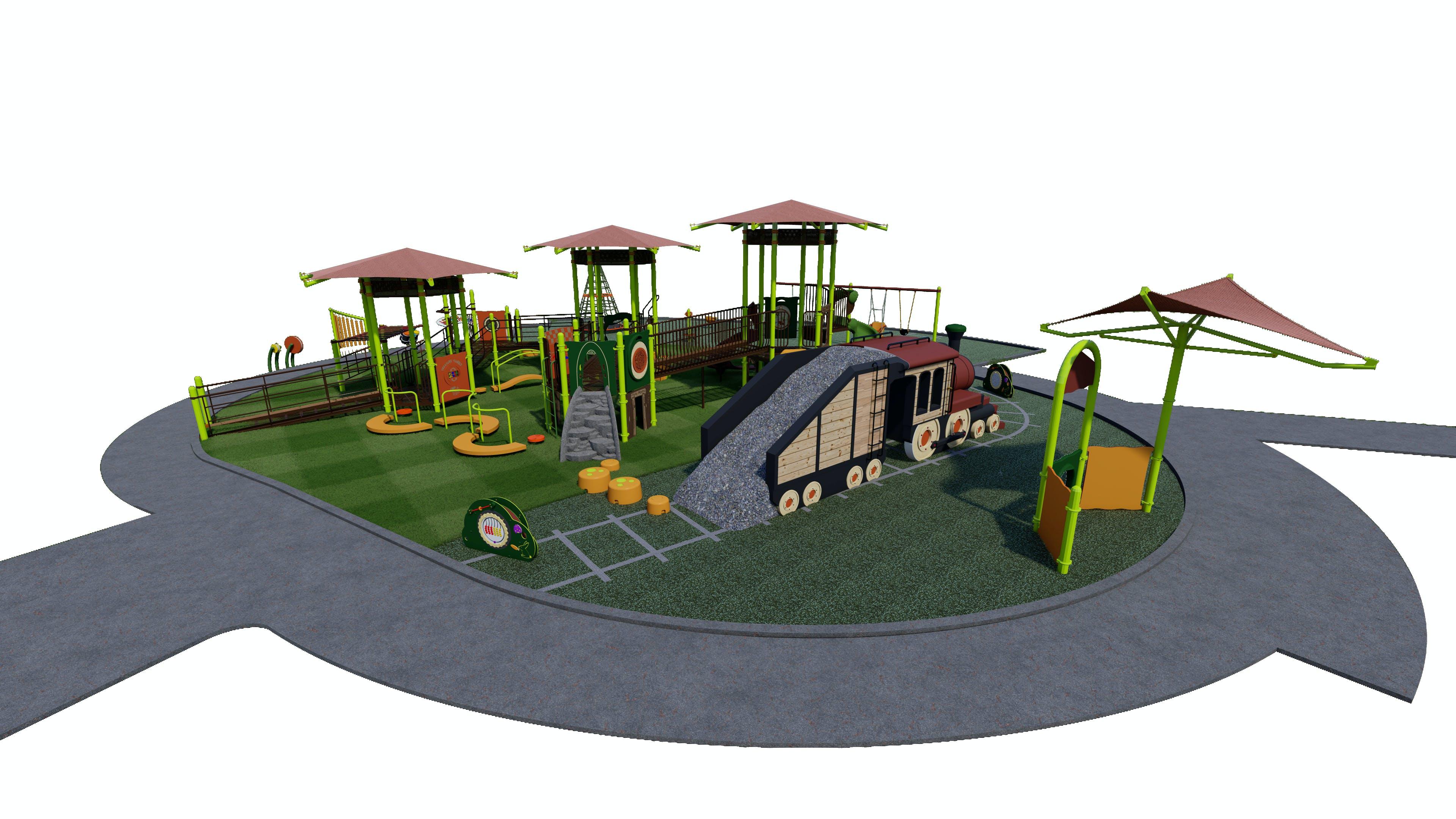 Preferred Playground Design View 1