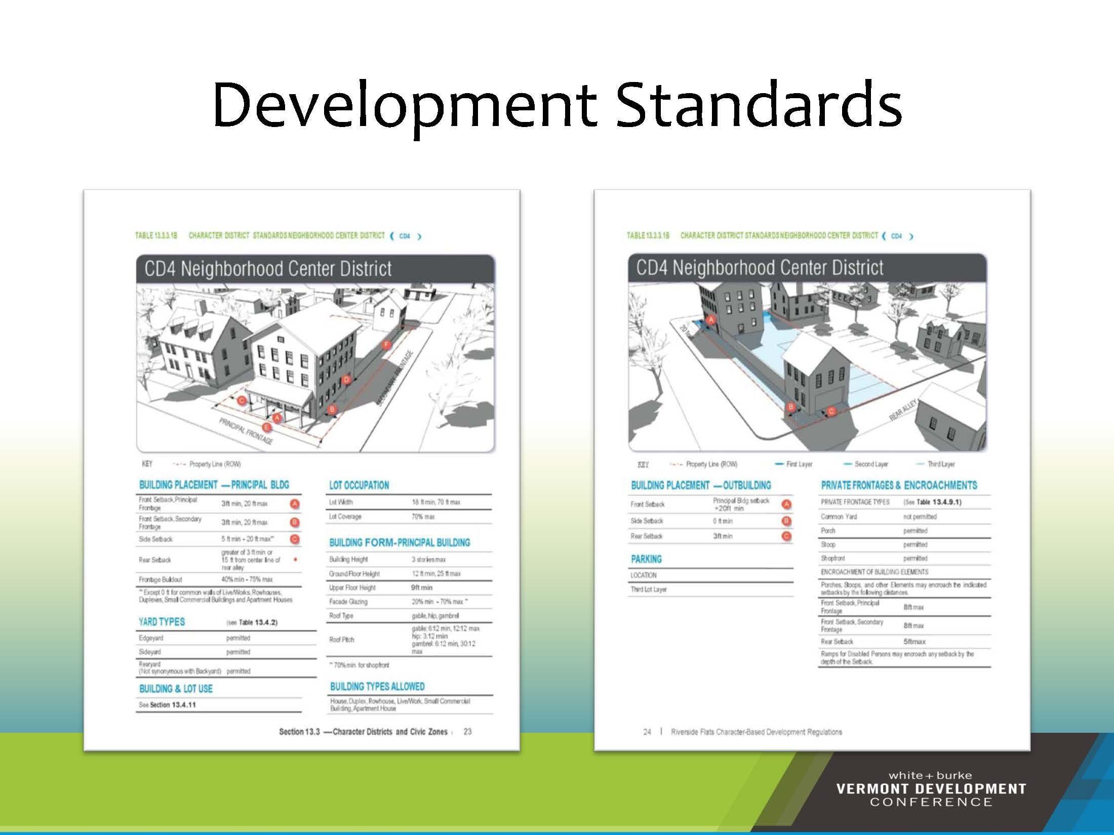 Development Standards