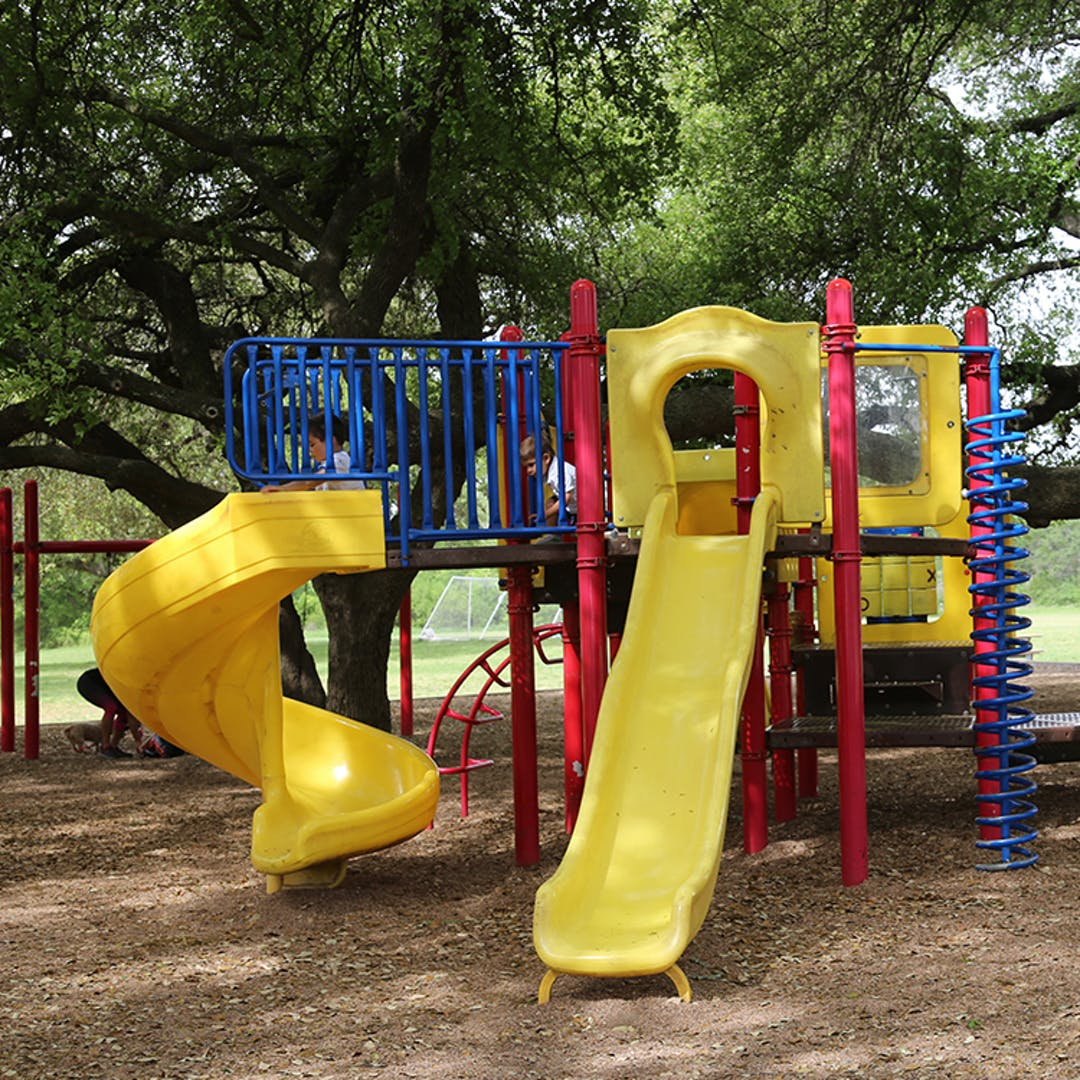 The playground at Circle C Metro Park