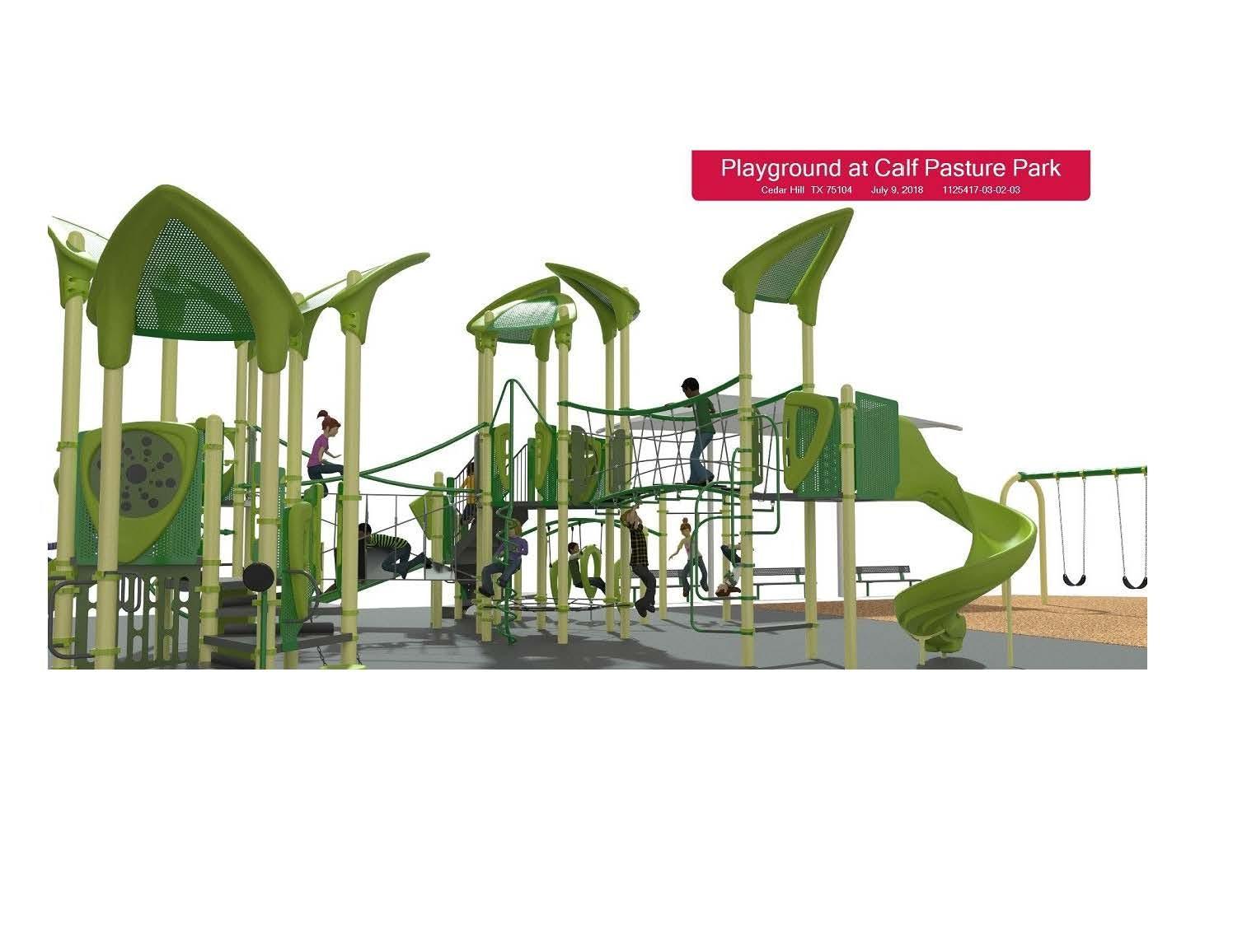 Calf Pasture Playground Concept