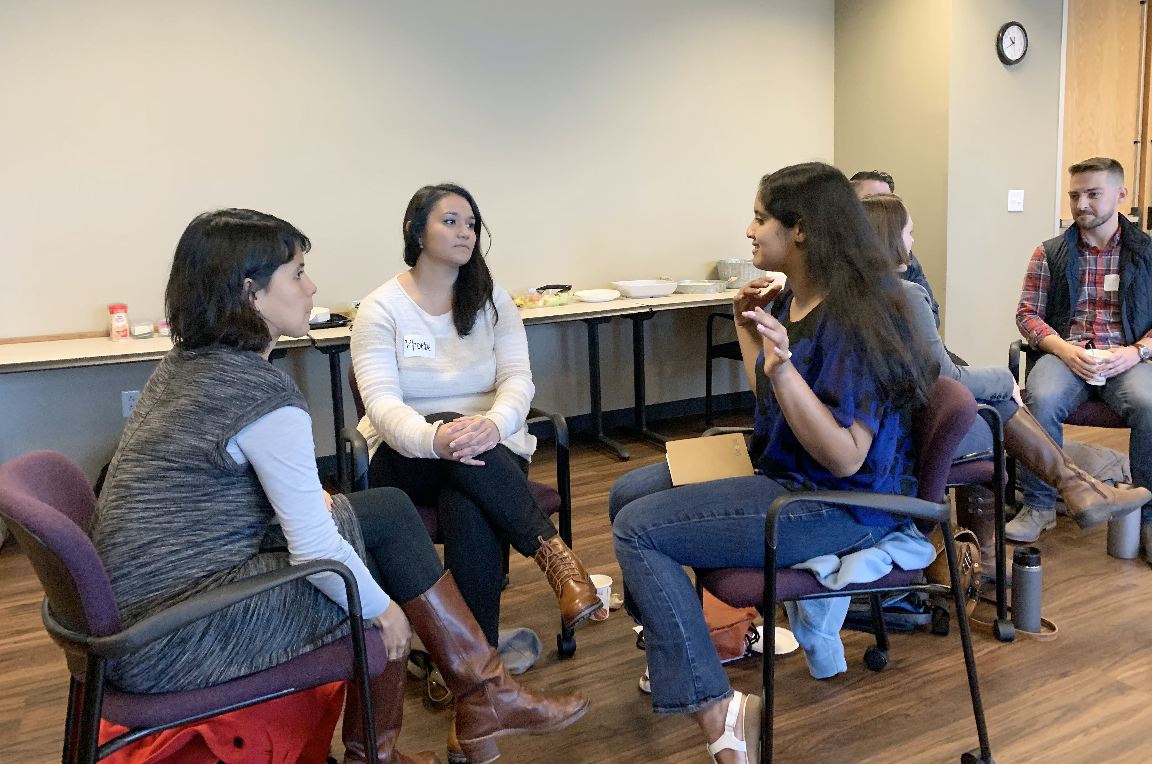 Conversations at the Climate Equity Workshop