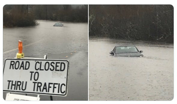 Local Flooding Can Get serious Fast (Bellevue Dec 2019)