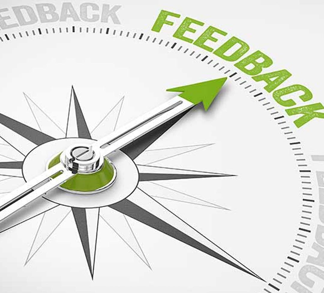 Compass Pointing to Feedback