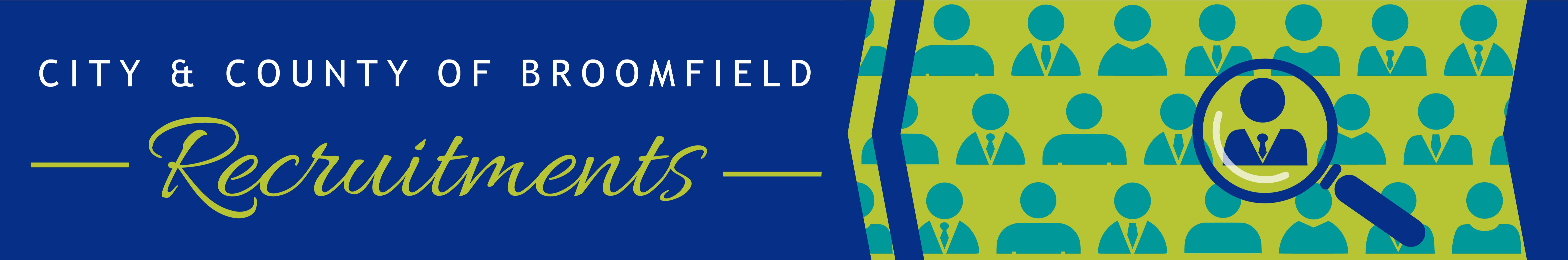 City and County of Broomfield Recruitment header banner image