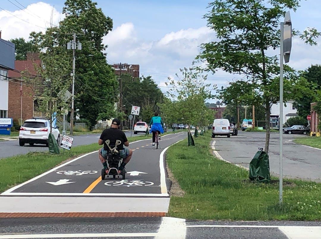 City of Kingston Pedestrian Bicycle Master Plan Logo