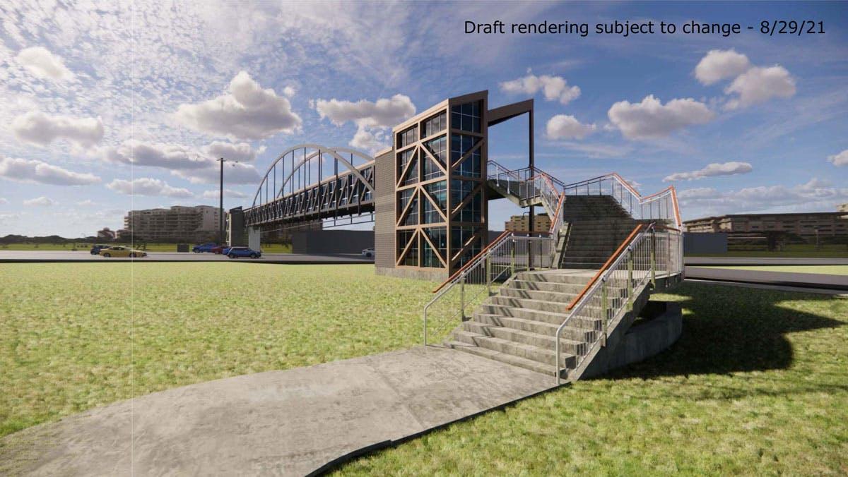 Draft Rendering of Nine Mile Bridge (Subject to Change)