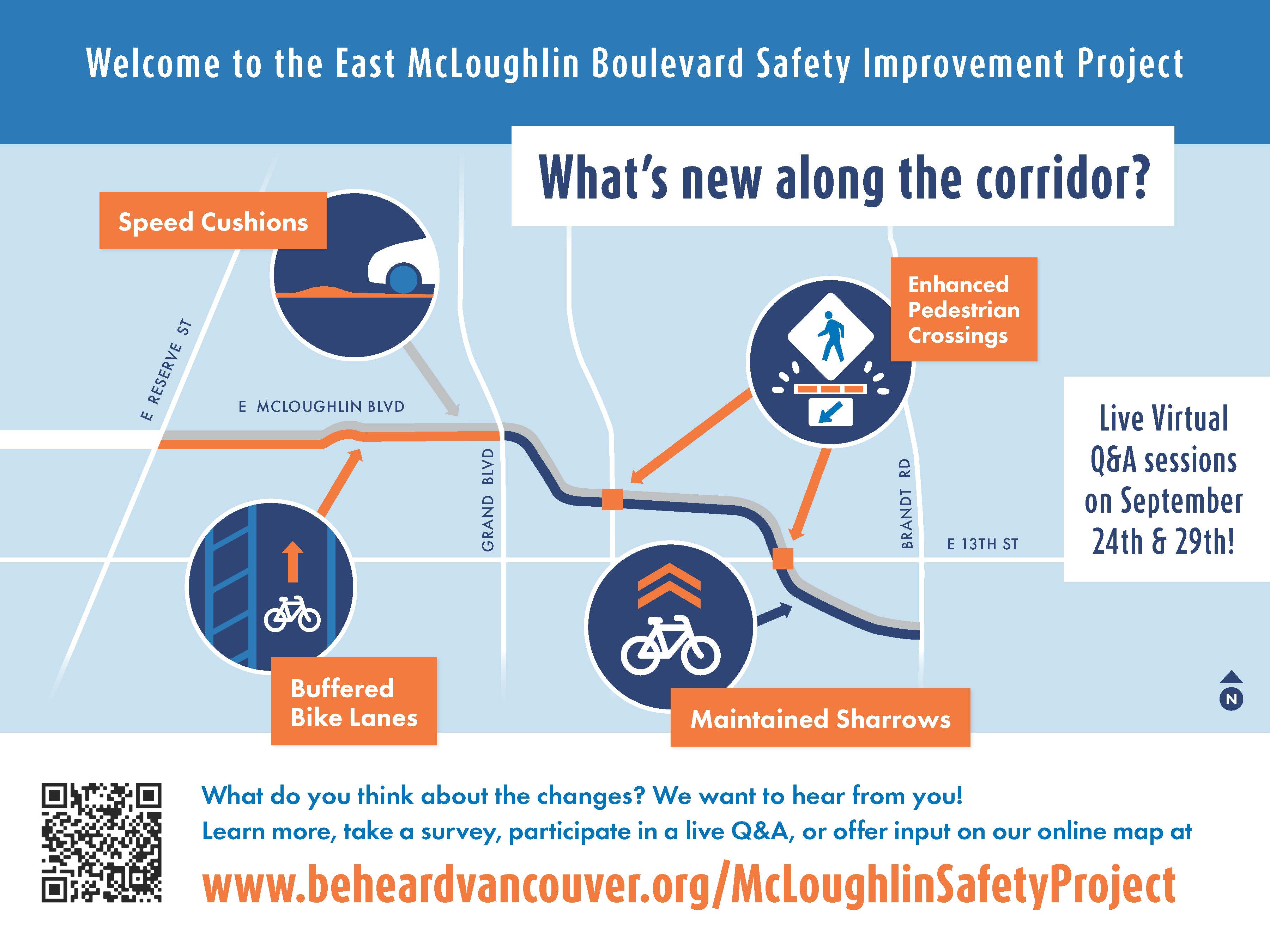 McLoughlin Safety Project Map