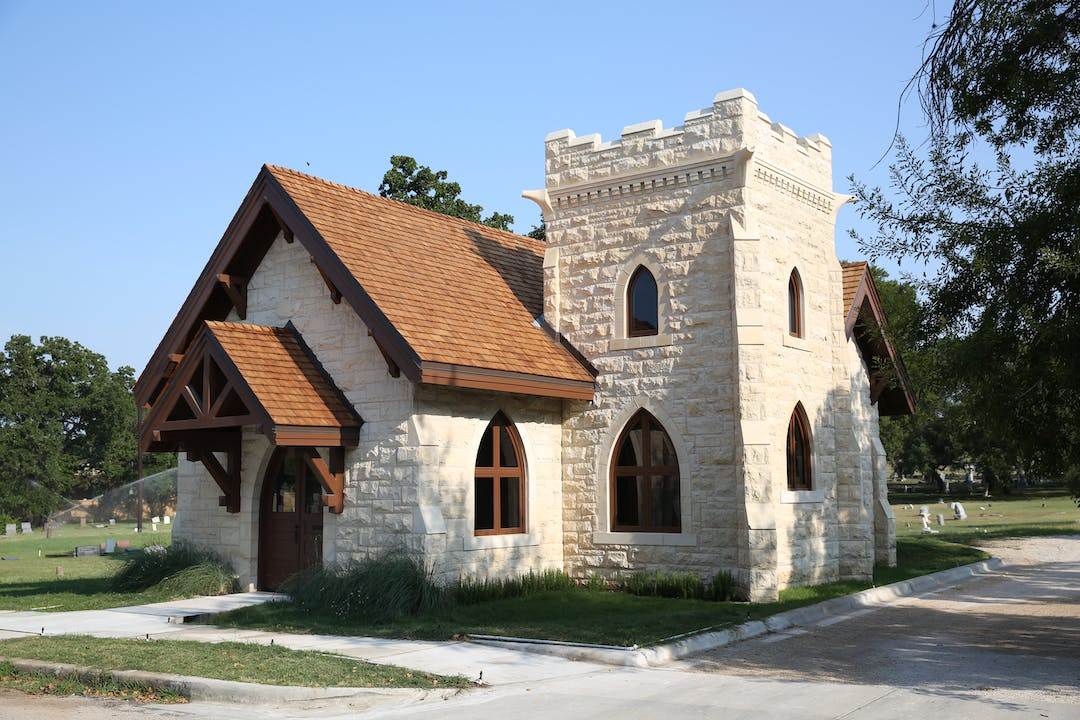 Oakwood Cemetery Chapel, restored in 2018