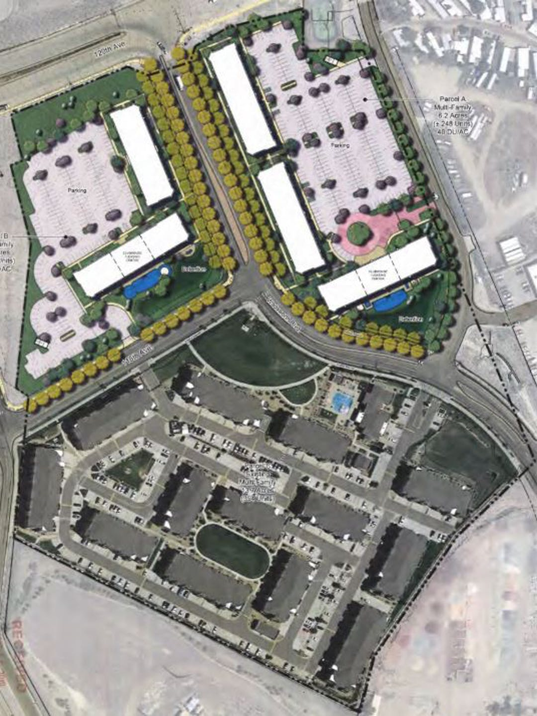 Harvest Station Proposed Site Plan