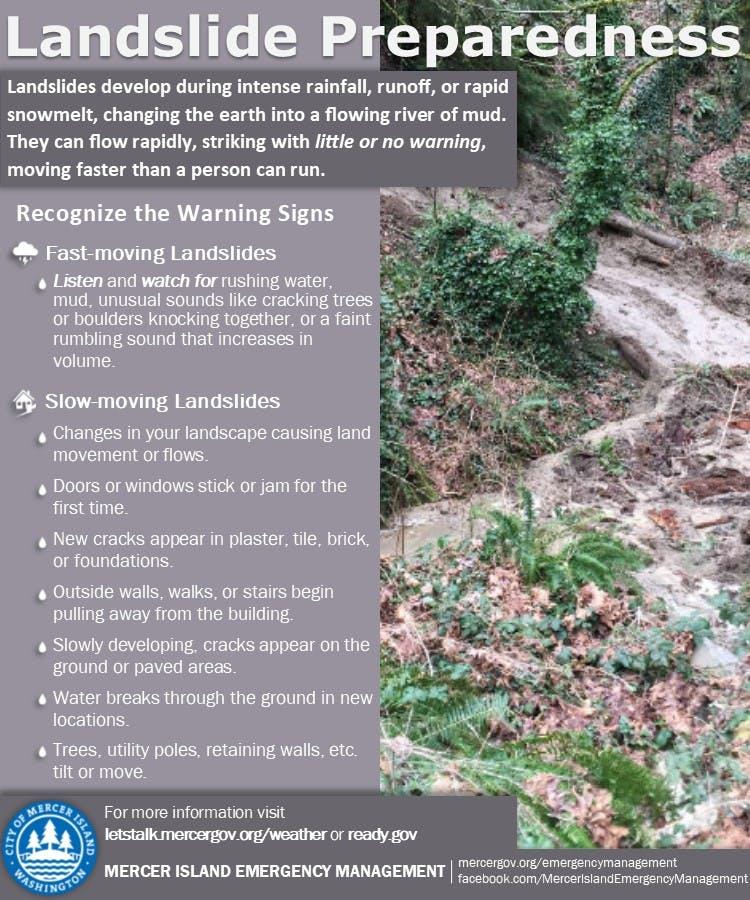 Landslide Preparedness