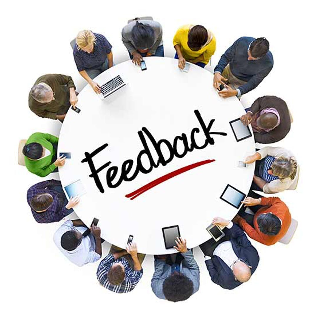 Feedback around the table