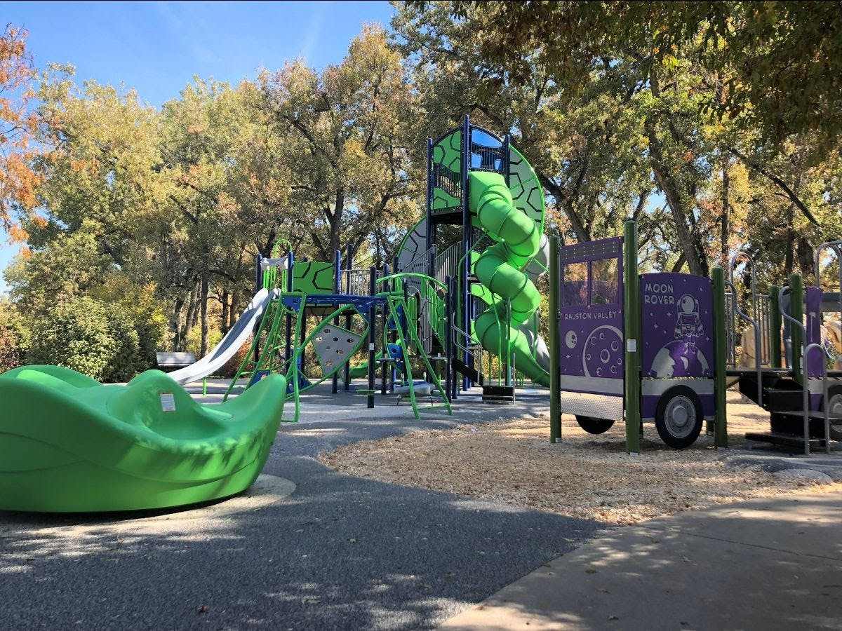 Ralston Valley Playground Renovation: Space Themed