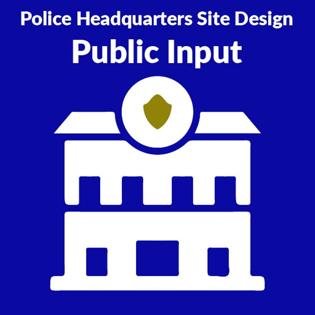 An artist's rendering of current proposed design for the new Fayetteville Police Headquarters