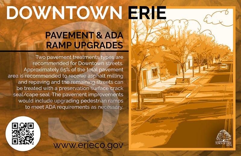 Pavement &  ADA Upgrades