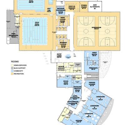 Floor Plans Level 1