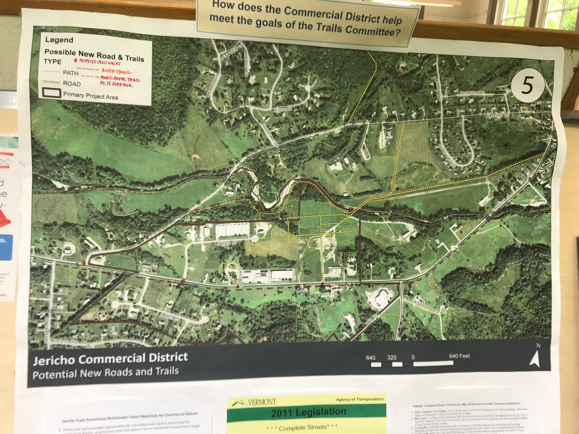 Open House Trails Board