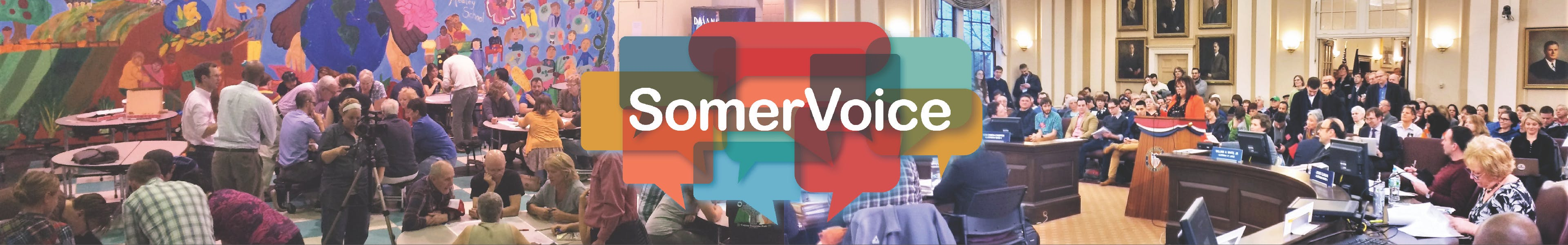 Welcome to SomerVoice, the city's online engagement platform!