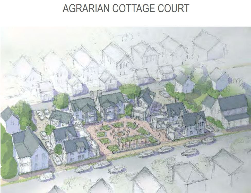 Agrarian Cottage Court